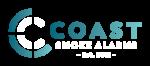 Coast Smoke Alarms Logo Horizontal