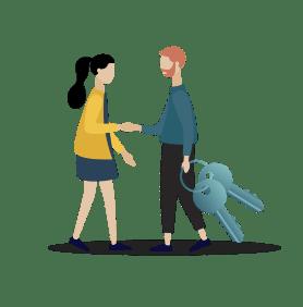 Property Managers Handshake Overlay