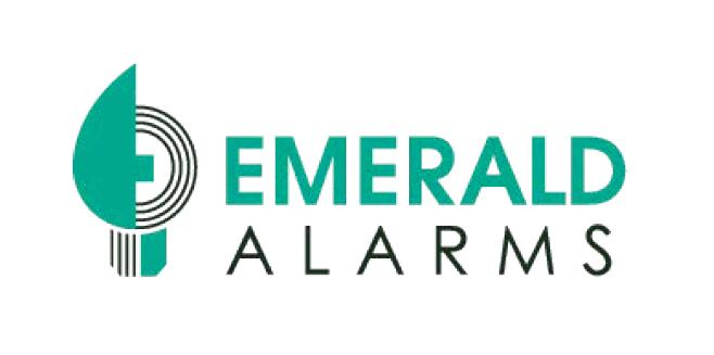 Emerald Alarms Logo